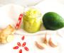 Avocado-Aufstrich mit Knoblauch & Ingwer
