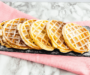 Käsekuchen-Waffeln ohne Zucker